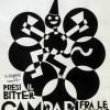"""Fortunato Depero, """"Presi il Bitter Campari tra le nuvole"""", china su cartoncino, 32,1 x 27,3 cm, 1928, Galleria Campari, Sesto San Giovanni, Milano"""