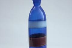 Fulvio Bianconi,  Bottiglia a fasce policrome ,1952 - 1956