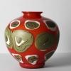 Vaso rosso a grandi macchie, 1963-1972